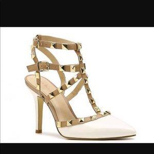Rock stud heels
