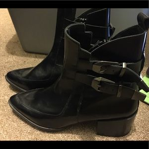 Zara  Traffialuc Genuine Leather Boots