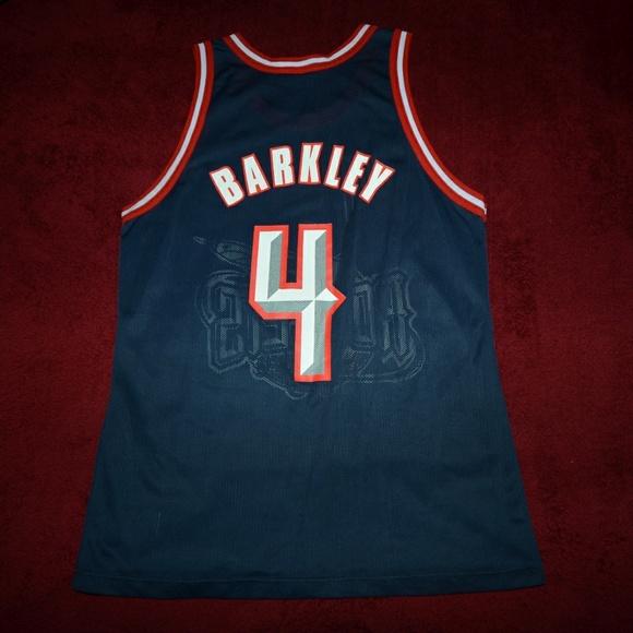 3df905475 Champion Other - Vintage Charles Barkley Houston Rockets Jersey