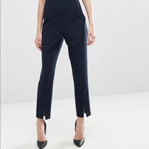 Asos || Clean Tuxedo Pants in Blue
