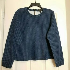 J.crew long sleeve sweater/jacket