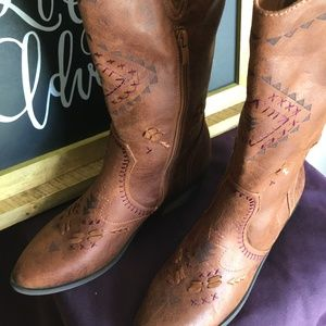 Rampage Cowboy Boots~~NEW~~
