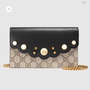 Peony GG Supreme Mini Chain Bag