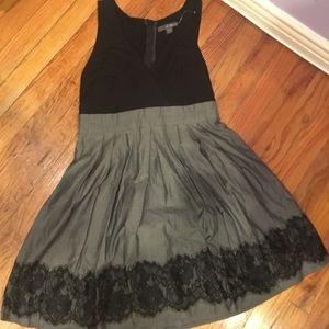 Black & Grey Forever 21 Dress