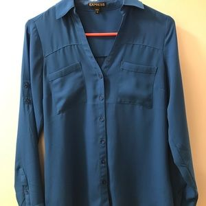 Blue Express portofino blouse