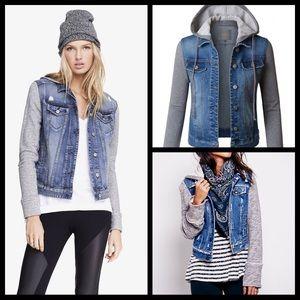 Jackets & Blazers - 3 LEFT‼️ Jean Sweater Jacket 🆕