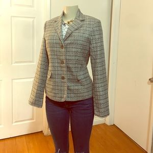Tweed Classic Fit Blazer