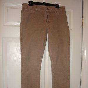 Banana Republic brown, corduroy pants