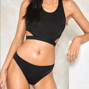 NWT Nasty Gal Making the Cut-Out Bikini Set