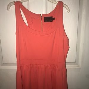 Pink/salmon dress with POCKETS!!