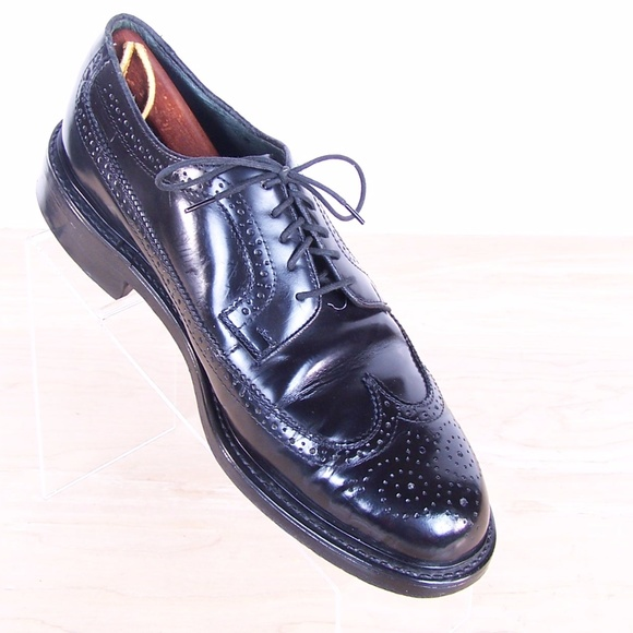 Jarman Mens Black Leather Oxford Shoes