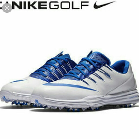 bc752a5cc233 Nike Lunar Control 4 Blue White Golf Shoe