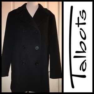 Talbots Double-Breasted Pea Coat