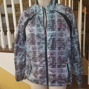 Like new New Balance zip up track jacket size Med