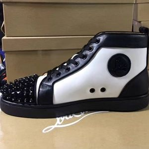 Other - White n black cl sneakers