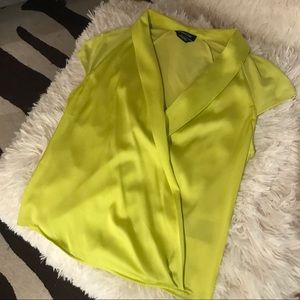 Bright Chartreuse Bebe Top