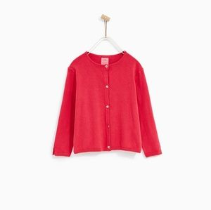 Zara nwt basic cardigan fit xsmall or girl  13-14