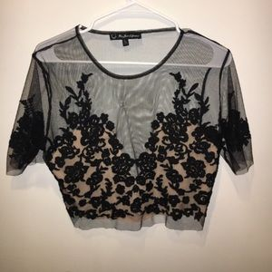 For Love and Lemons Luau Top size L