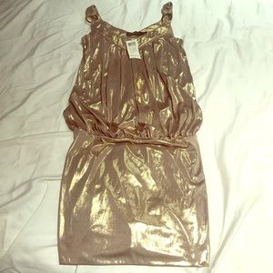 Gold Arden B dress - new with tags!