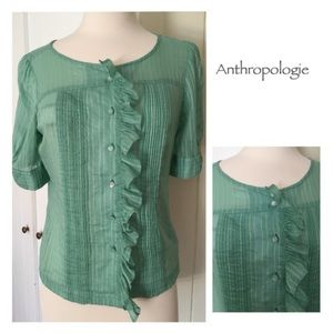 Mint Green Odille Blouse