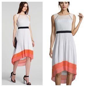 BCBGMaxAzria / Alicia Pleated high low dress