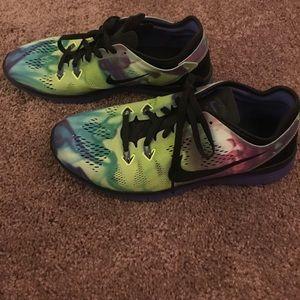 Nike free 5.0 multi colored