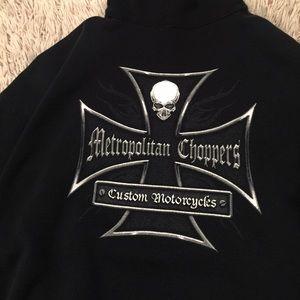 Sweaters - Metropolitan Chopper Hoodie