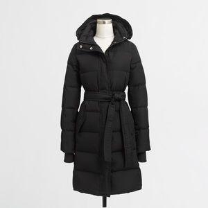 Winter is coming ❄️ J. Crew Long Down Coat
