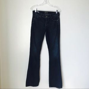 Citizens of humanity dark wash flare jeans