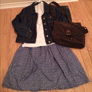 Gap Multicolored Flower 🌺 Skirt.