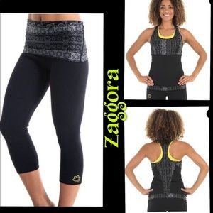 Zaggora crop leggings  and top
