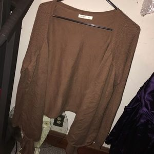 Old Navy Brown Pullover Cardigan