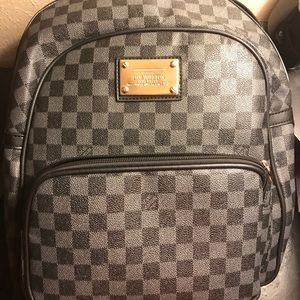 Louis Vuitton Backpack Grey