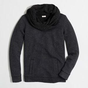 J.crew / funnel neck sweatshirt