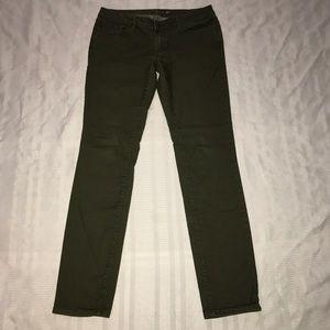 Prana organic cotton stretchy skinny jeans size 8