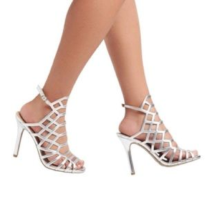 Kylea Caged Gladiator Heels