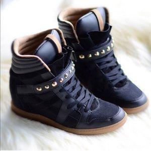 Zara wedge sneakers