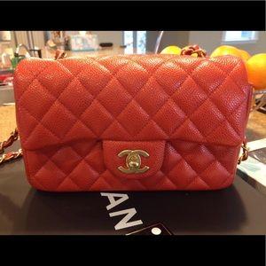 Chanel new mini flap bag