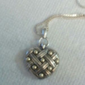 Anne King Heart Pendant