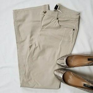 Jones New York Sport stretch khaki jeans