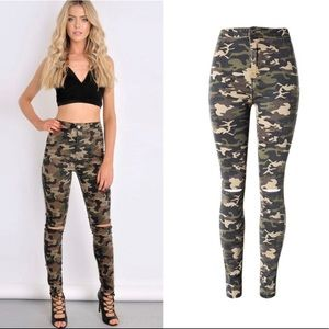 PRE-ORDER! Camouflage Jeans 😍