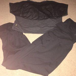 EUC Adidas dance pants & Lucy SL sweatshirt.