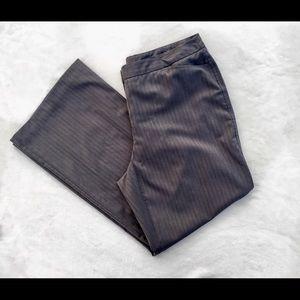 Worthington Woman Modern Fit Pants Pin Striped