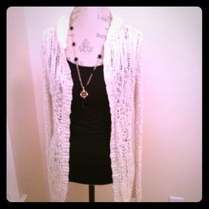 Mossimo Beautiful long Boho Style Sweater.