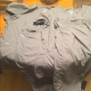 2 NrG Scrub Sets   Large Tops/ Large Tall Pants