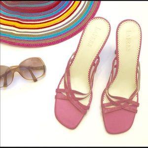 Ralph Lauren Pink Sandals