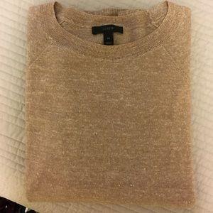 J CREW beige sweater size XS