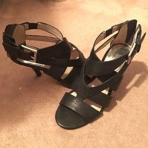 Black Michael Kors Heels; size: 4.5