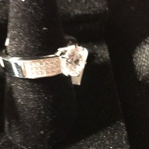 Sterling Silver Micro Pave With 43 Cubic Zirconia