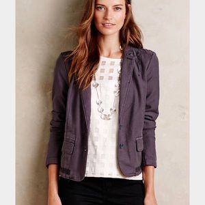 Anthropologie Hei Hei Delanie Blazer Jacket Sz 8